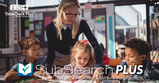 SubSearch Plus. Simple. All-in-One. Substitute Management.