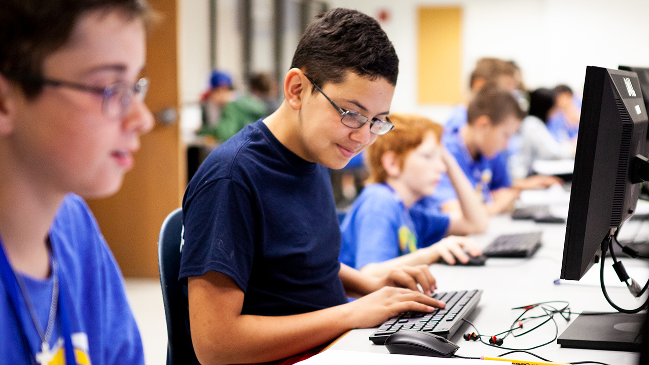 2018 ASU Code Camp - Student's Working on Computer Science Projects